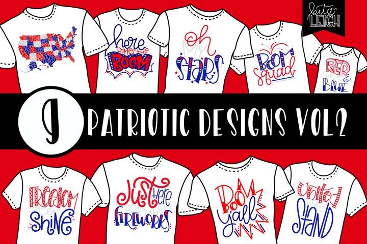 Patriotic Design Bundle VOL 2