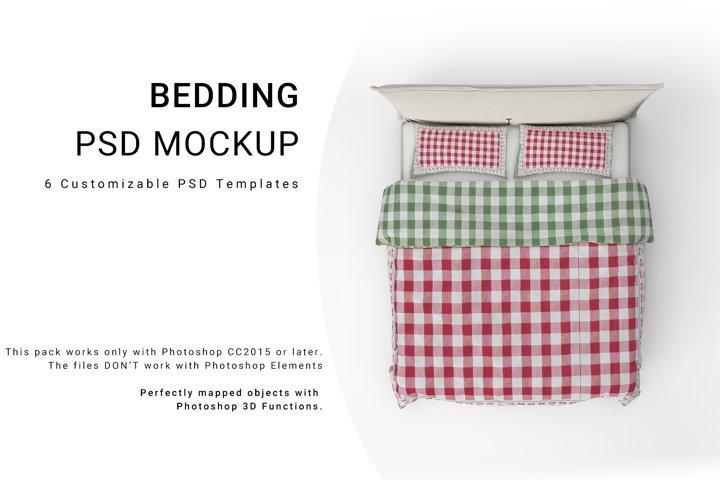 Bed Linens Mockup Se