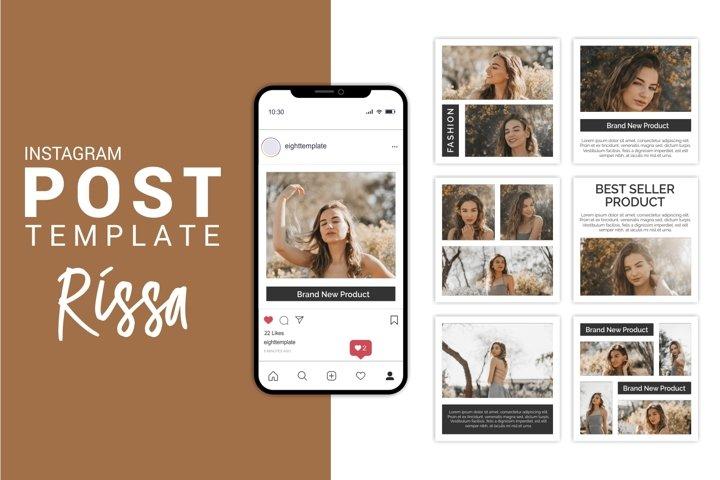Rissa - Fashion Instagram Post Template