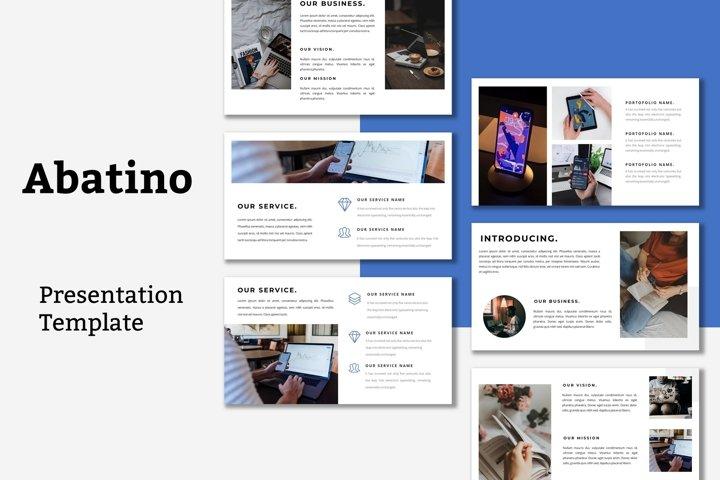 Abatino - Keynote Presentation Template
