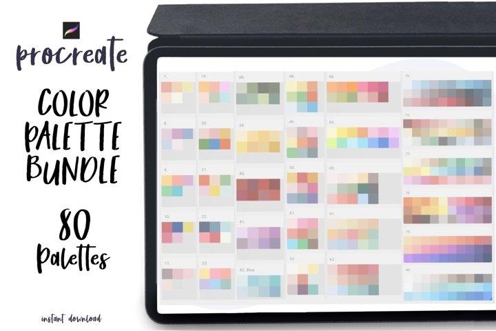 Procreate Color Palette Bundle