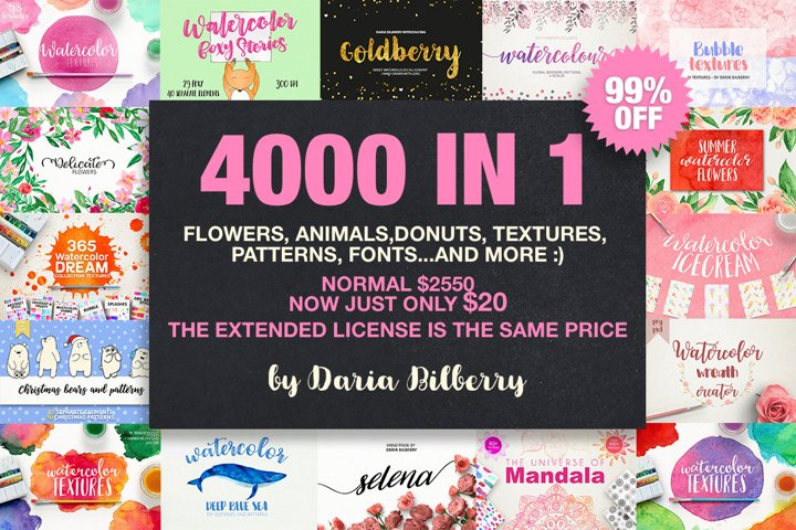 4000 IN 1 GRAPHIC BUNDLE SUPER SALE