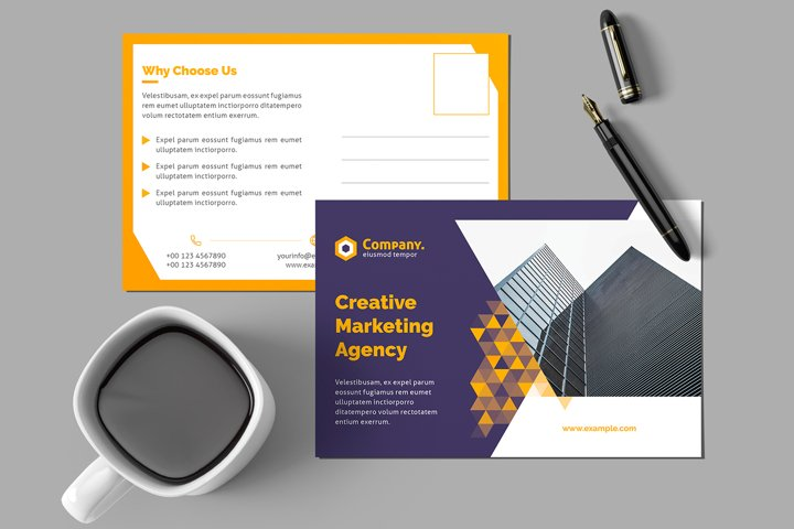 Postcard Creative Template