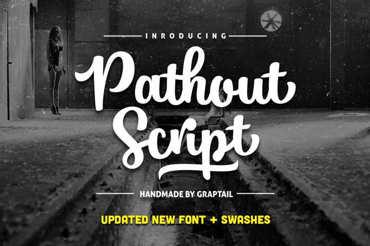 Pathout Script - Free Font of The Week Design0