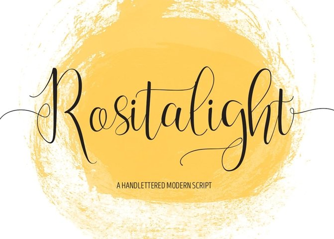 Rositalight Script