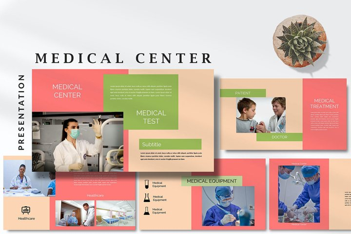 Medical Health Center - Covid Keynote Template