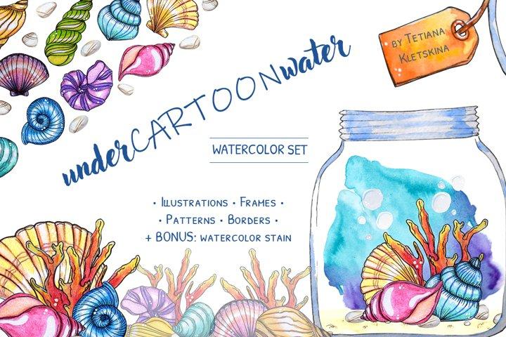 underCARTOONwater