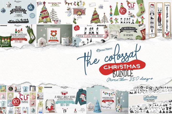 Huge Christmas SVG Bundle | Christmas Bundle SVG Cut Files