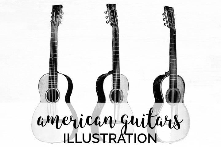 Guitars - Vintage Musical Instruments American Guitar