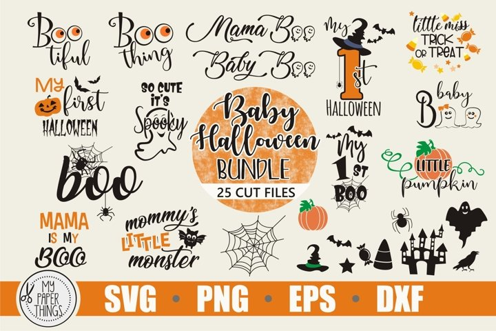 Baby Halloween svg bundle, Baby svg, Fall svg