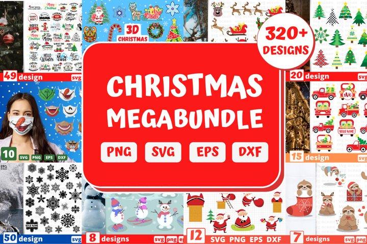 Christmas SVG Bundle | 3D Christmas SVG | Quotes svg