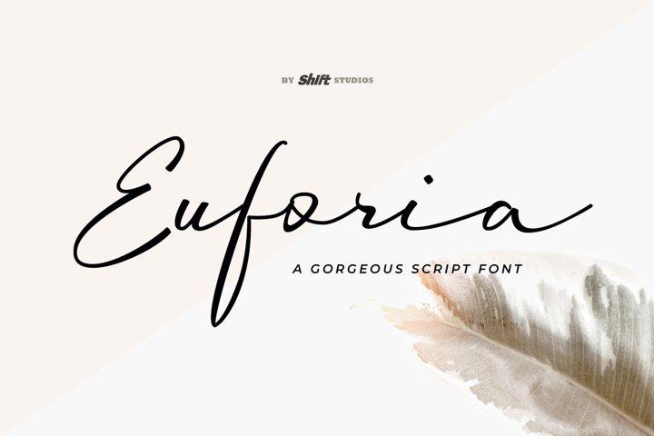 Euforia Typeface