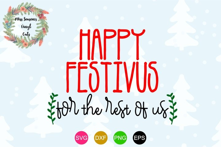 Happy Festivus for the Rest of Us