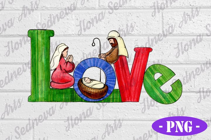 Christmas PNG - LOVE Designs | Sublimate Download files