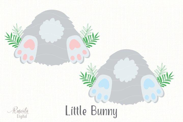 Cute Little Easter Bunny Clipart 3