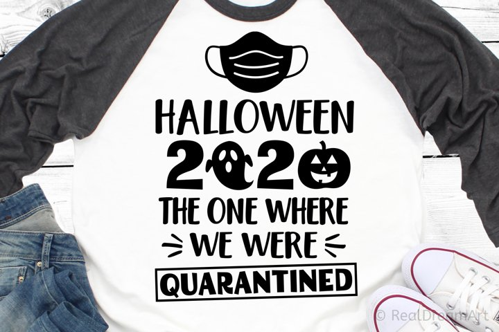 Halloween 2020 the One Where We Were Quarantined SVG