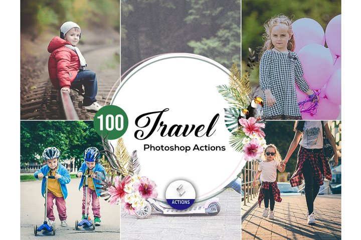 100 Travel Photoshop Actions Vol2