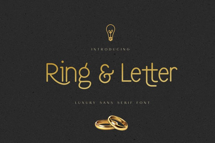 Ring & Letter