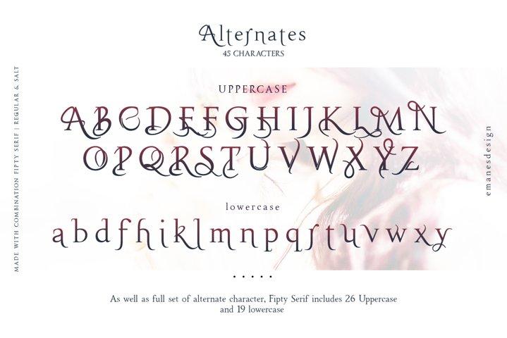 Fipty Serif Font Family example 6
