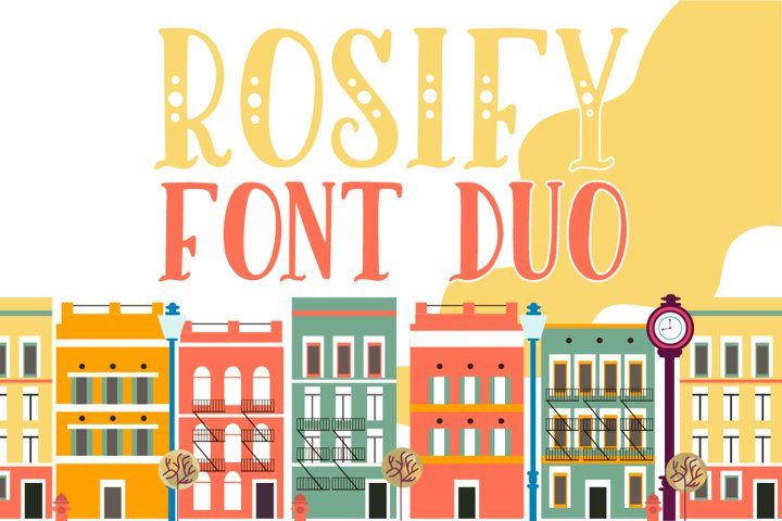 Rosify Dots Font Duo