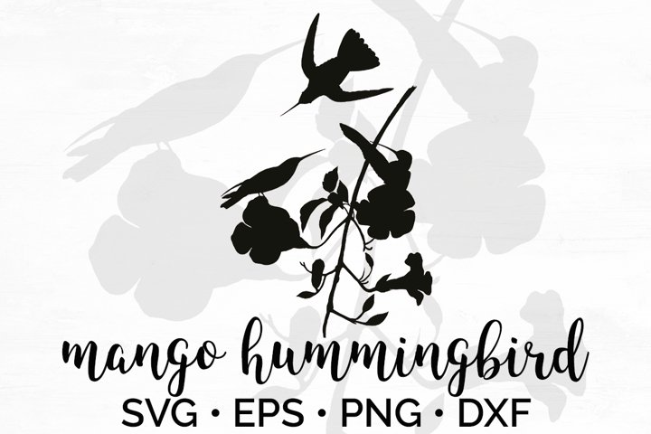 Hummingbird SVG Silhouette