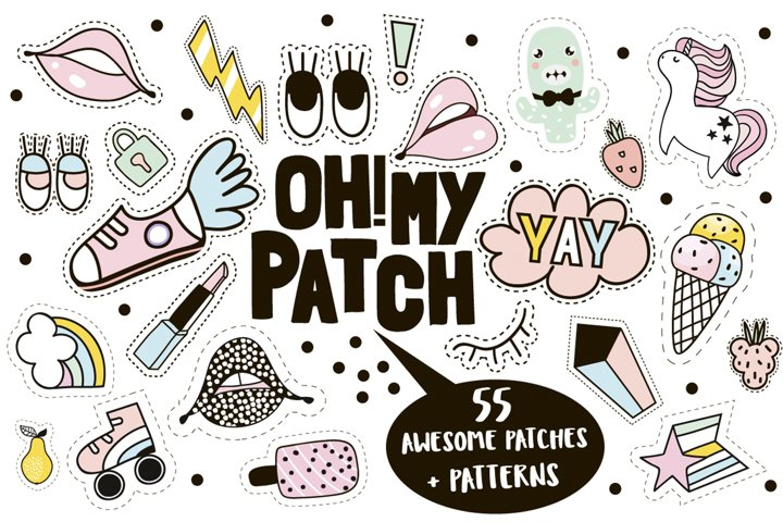 AWESOME PATCHES SUMMER PACK
