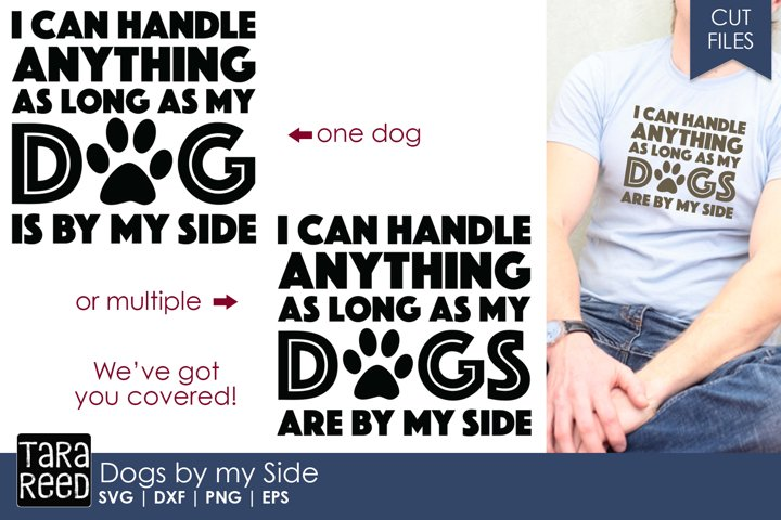 Dogs by My Side - Cut Files for Crafters