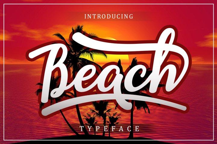 Beach example