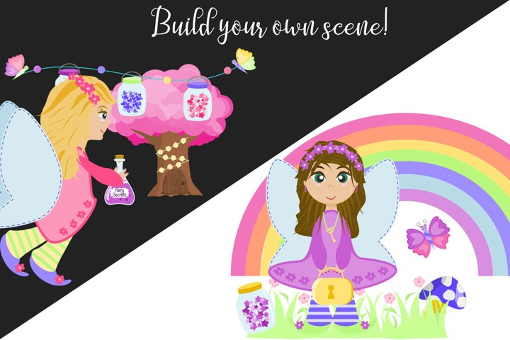 Fairy Secrets - Graphics and Patterns example 3