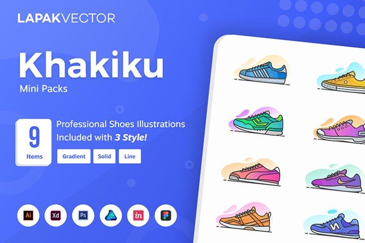 Khakiku - Shoes Illustration