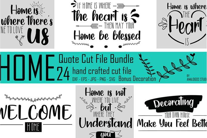 The Mega SVG Bundle Design - Home Theme