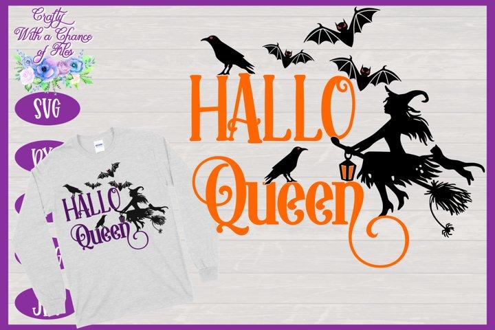 Halloween SVG | Witch SVG | HalloQueen SVG | Queen Witch SVG