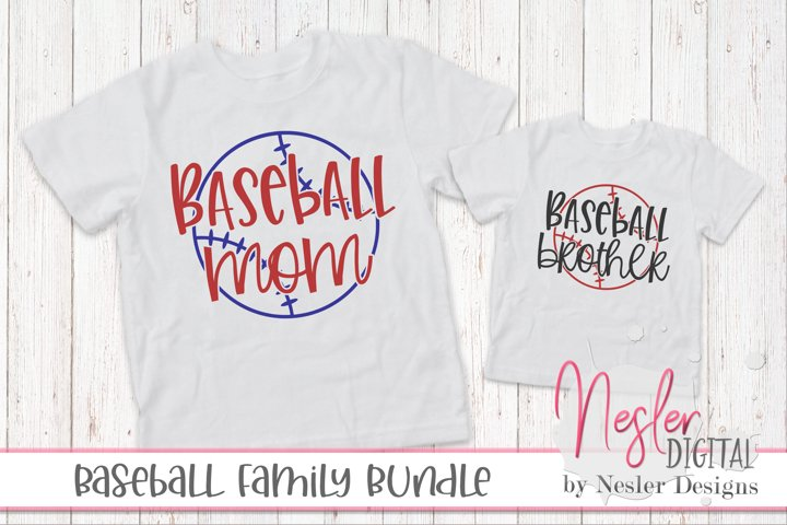 Baseball Family Crafting Bundle