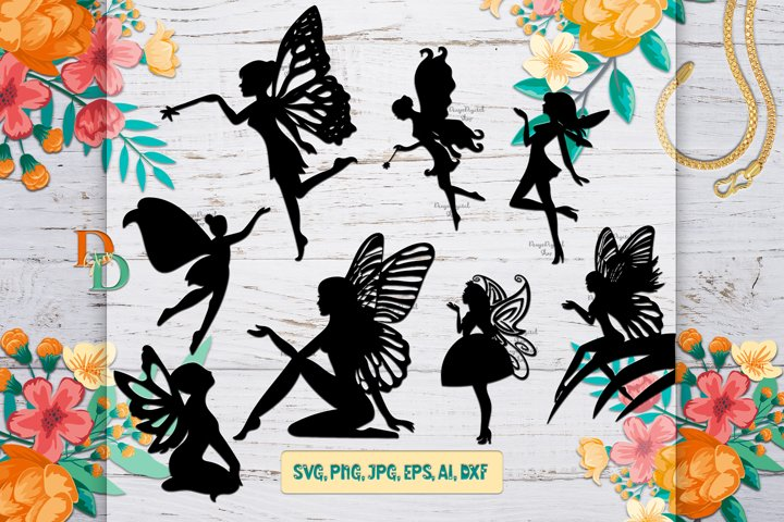 Fairy Digital Bundle, SVG bundle images, Fairies Prints