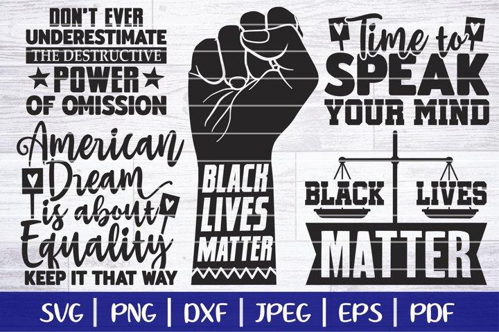 Black Lives Matter SVG Bundle - BLM SVG Bundle