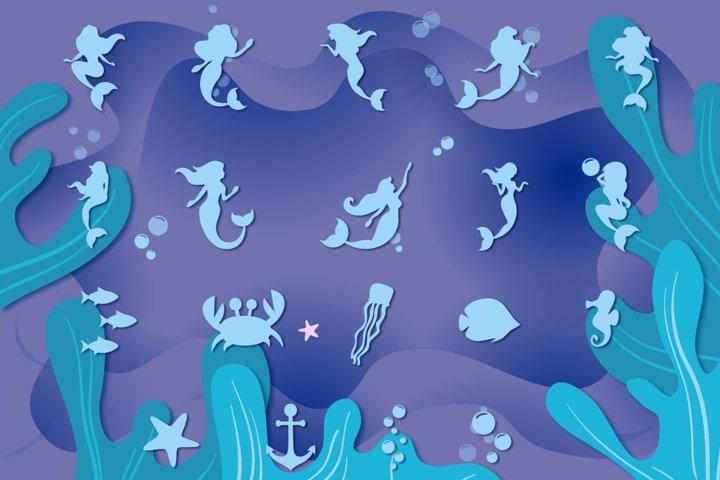 Mermaid Story & Mermaid Scales Font Duo | Mermaid Font - Free Font of The Week Design0