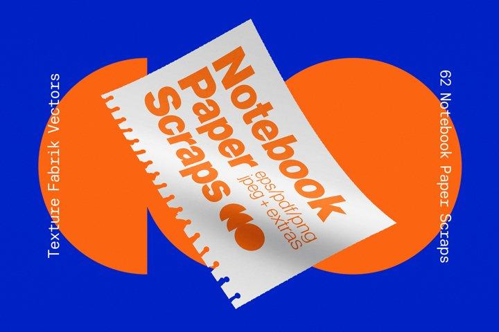 Notebook Paper Scraps
