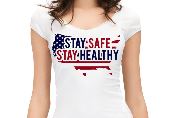 Stay Safe Stay Healthy Graphic Art_JPEG & PNG