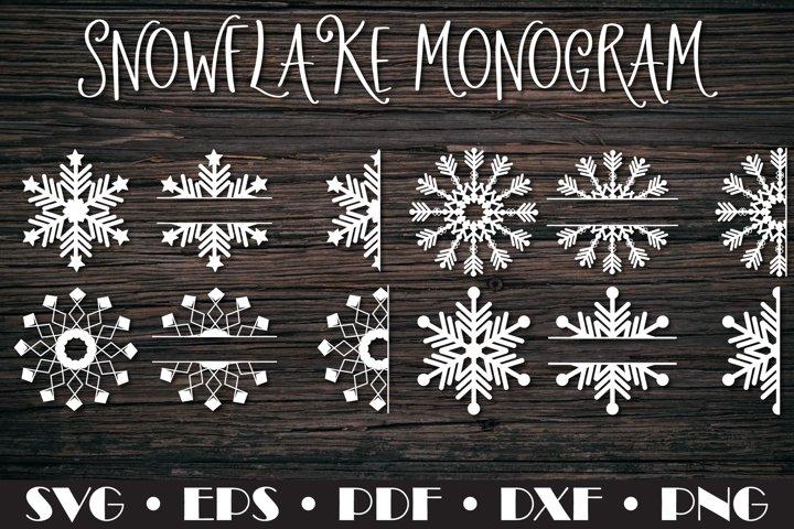 Snowflake Monogram