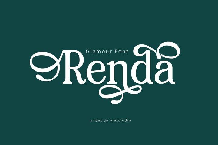 RENDA - Serif