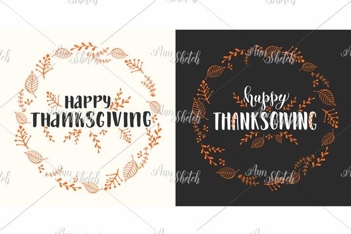 Invitation Thanksgiving Cards