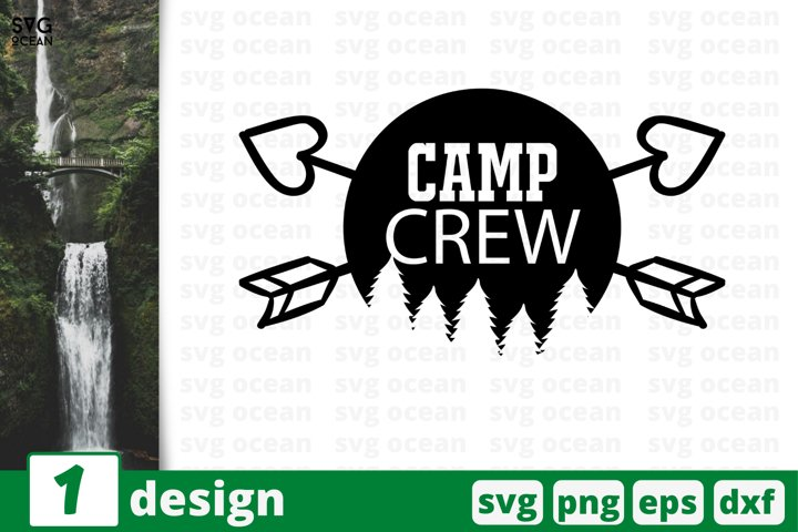 Camping SVG cut file, forest svg for cricut