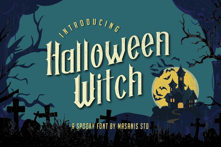 Halloween Witch - Spooky Font