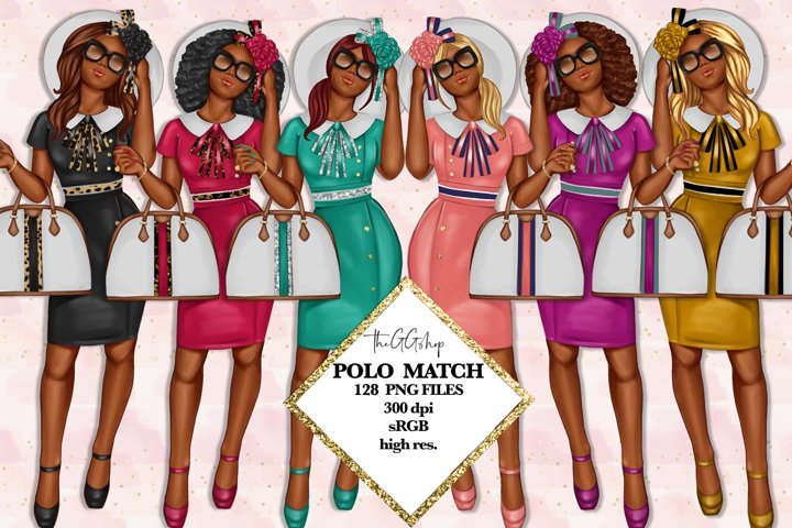 Afro American Girl Clipart