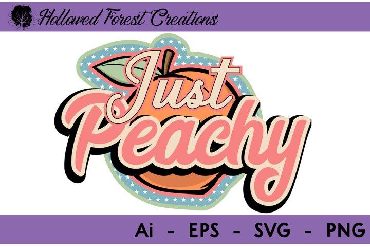 Just Peachy Retro