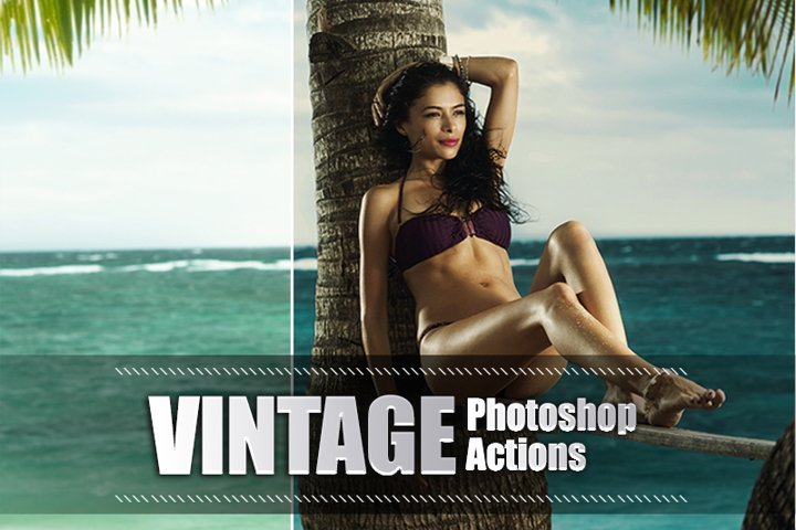 40 Vintage Photoshop Actions