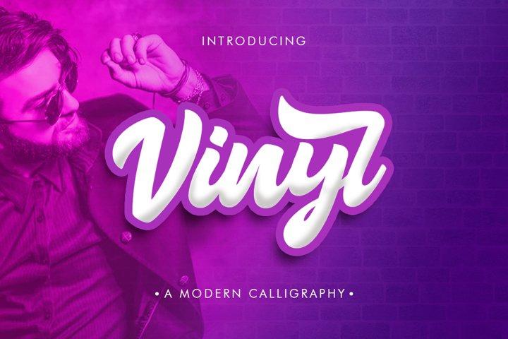Vinyl Script