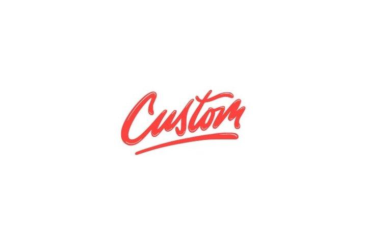 Custom lettering logo inspiration
