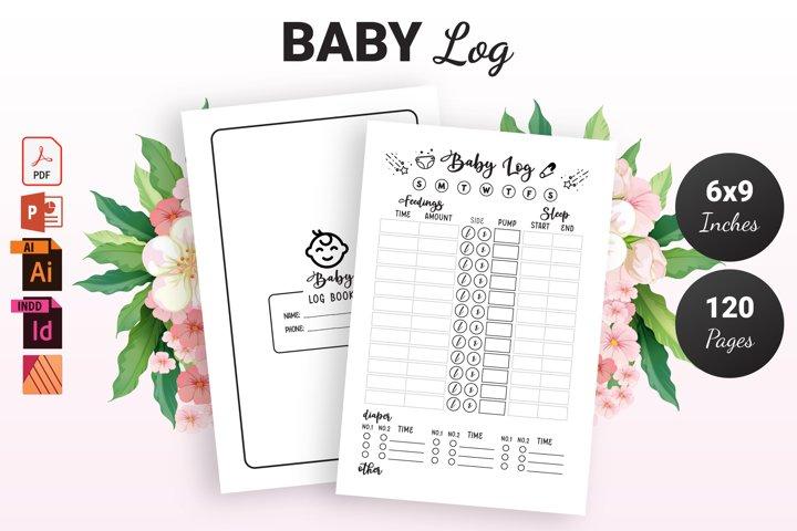 Baby Log Book - KDP Interior