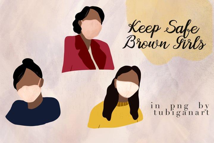 Keep Safe Brown Girls